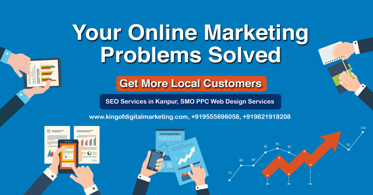 SEO Company in Kanpur, Digital Marketing Company, SMO PPC