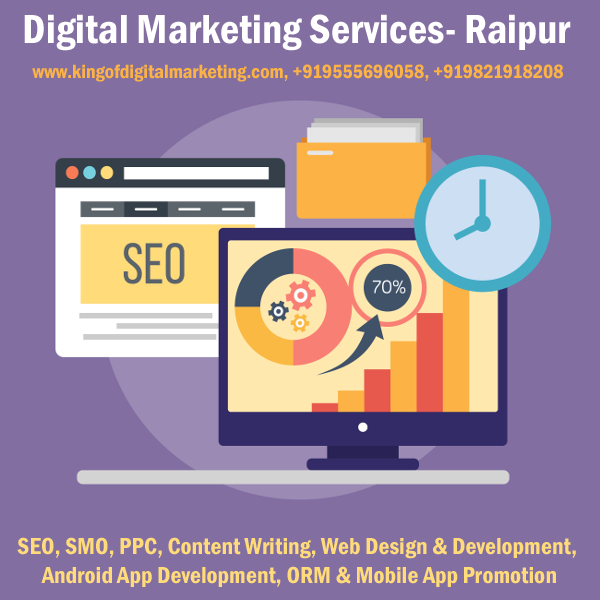 Digital Marketng Services in Raipur SEO SMO PPC Web Design Service