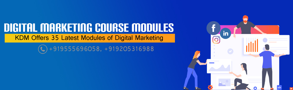 course modules of digital marketing