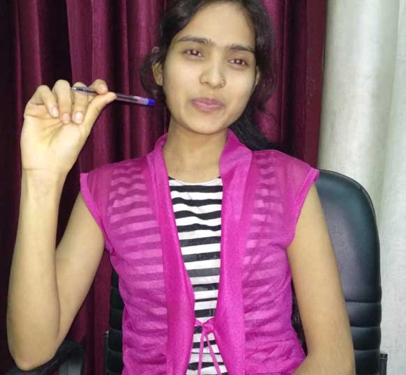 digital marketing student Sapna