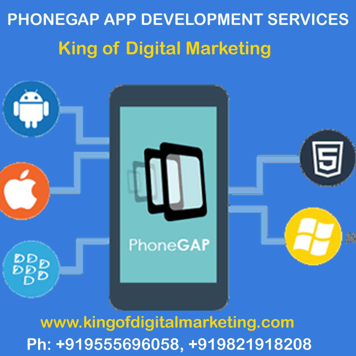 PhoneGap Mobile App Development Services Company in Delhi