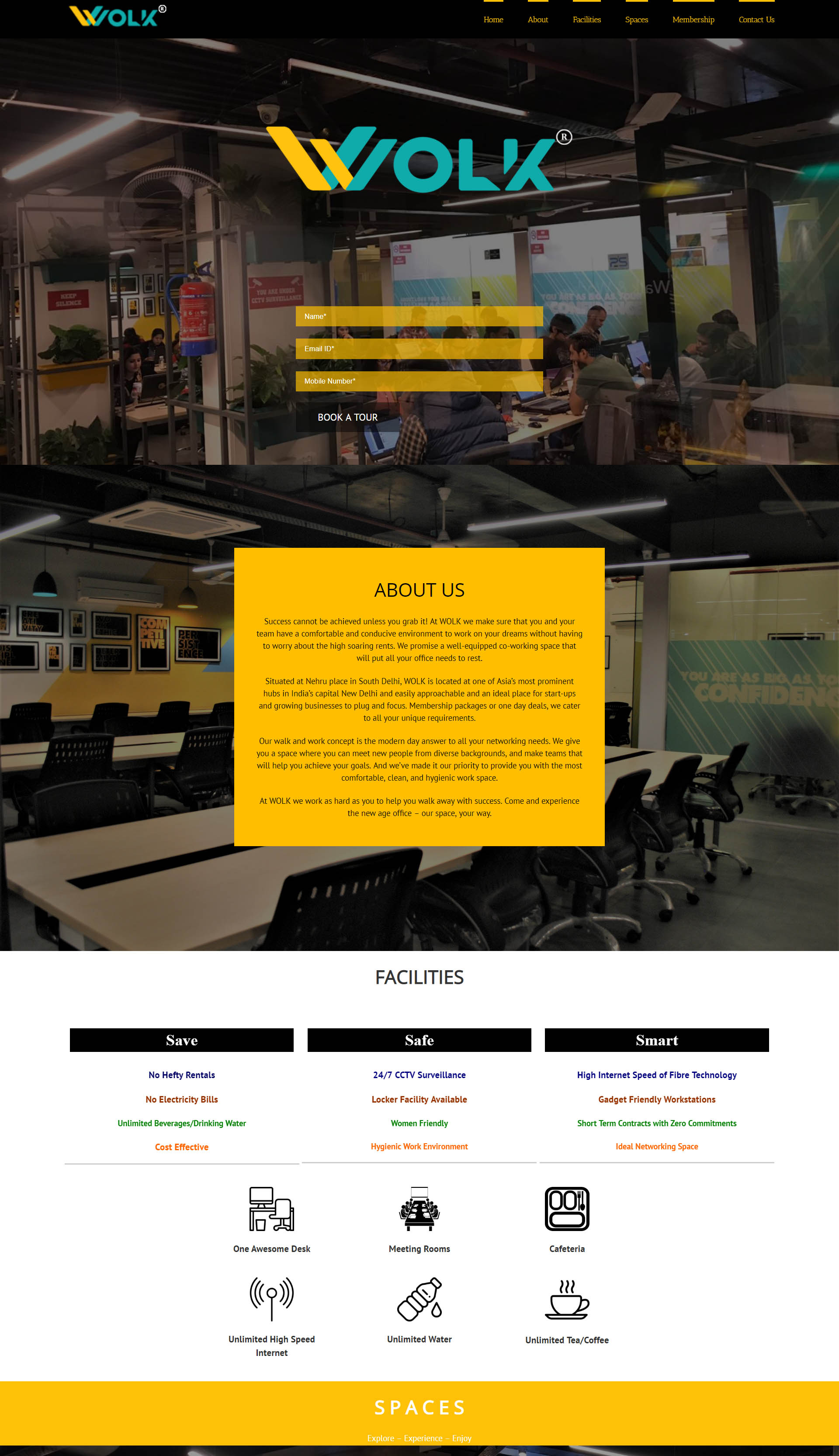 SEO for Wolk - Coworking Space in Nehru Place