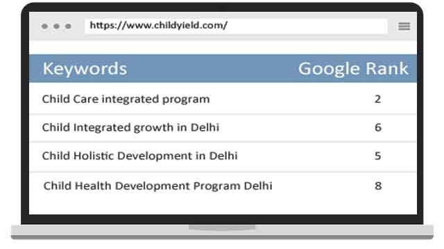 SEO for Childyield