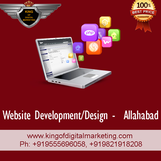 web design in allahabad website development.